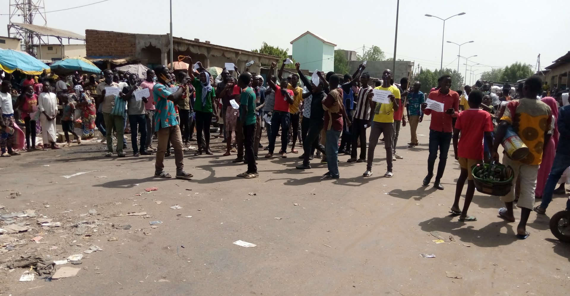 Marche contre le 6ème mandat : plusieurs arrestations à N'Djaména 1