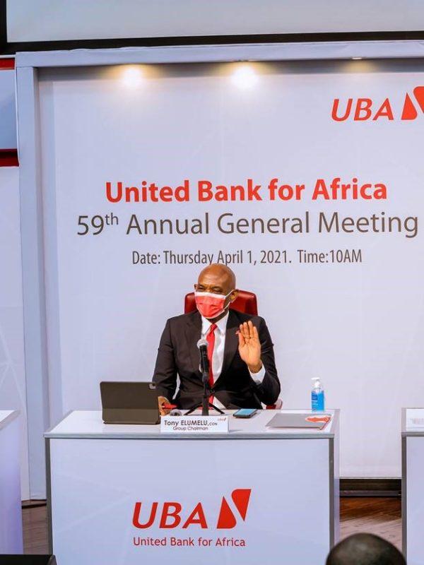 UBA est bien lancée pour tirer parti de la relance économique en 2021, déclare M. Elumelu