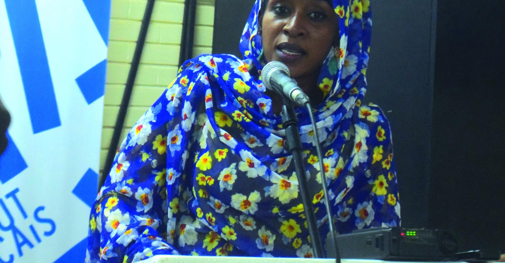 Hanifa Ali Oumar projette ' Une femme, un destin' 1