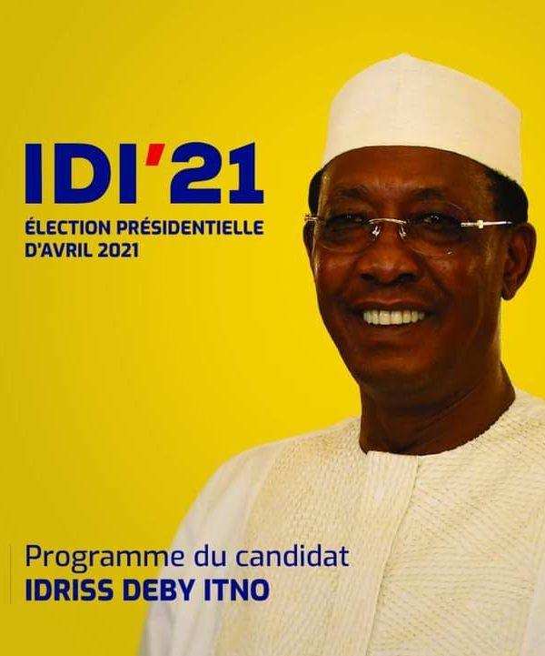Idriss Deby Itno réélu au premier tour avec 79,32 % de voix