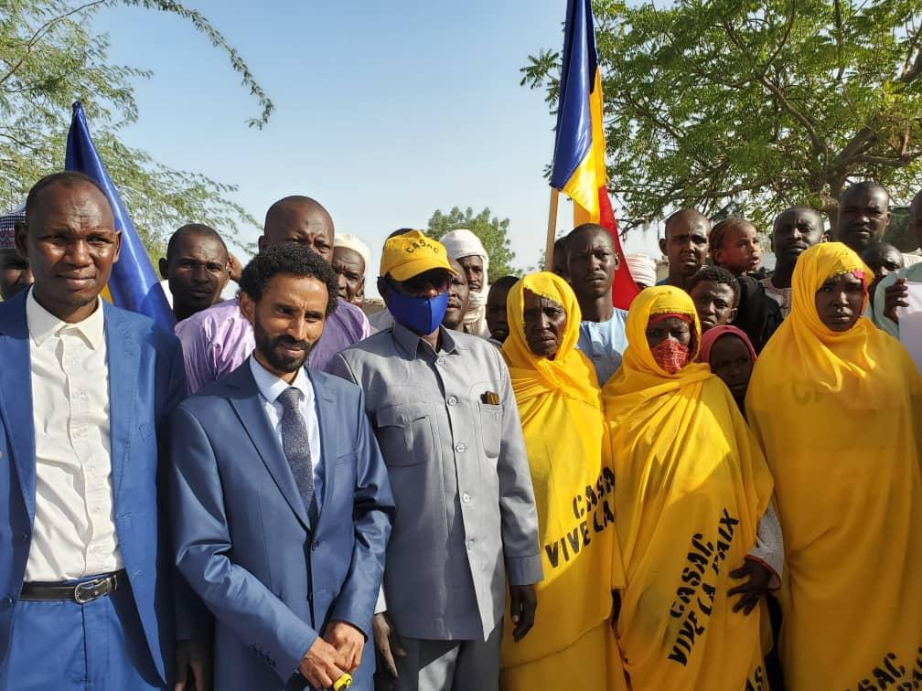 Casac poursuit sa campagne de sensibilisation pour la préservation de la paix à N'Djamena 1
