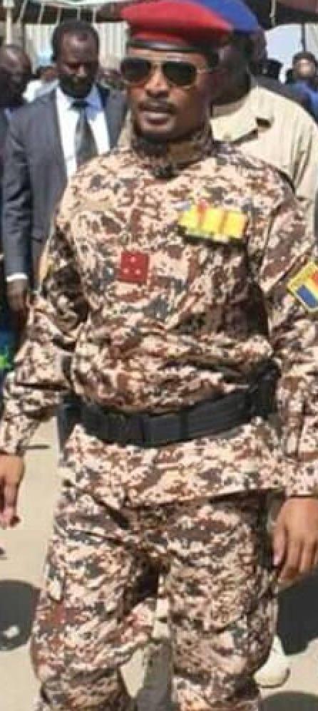 Mahamat Idriss Déby Itno, nouveau chef du conseil militaire de transition 1