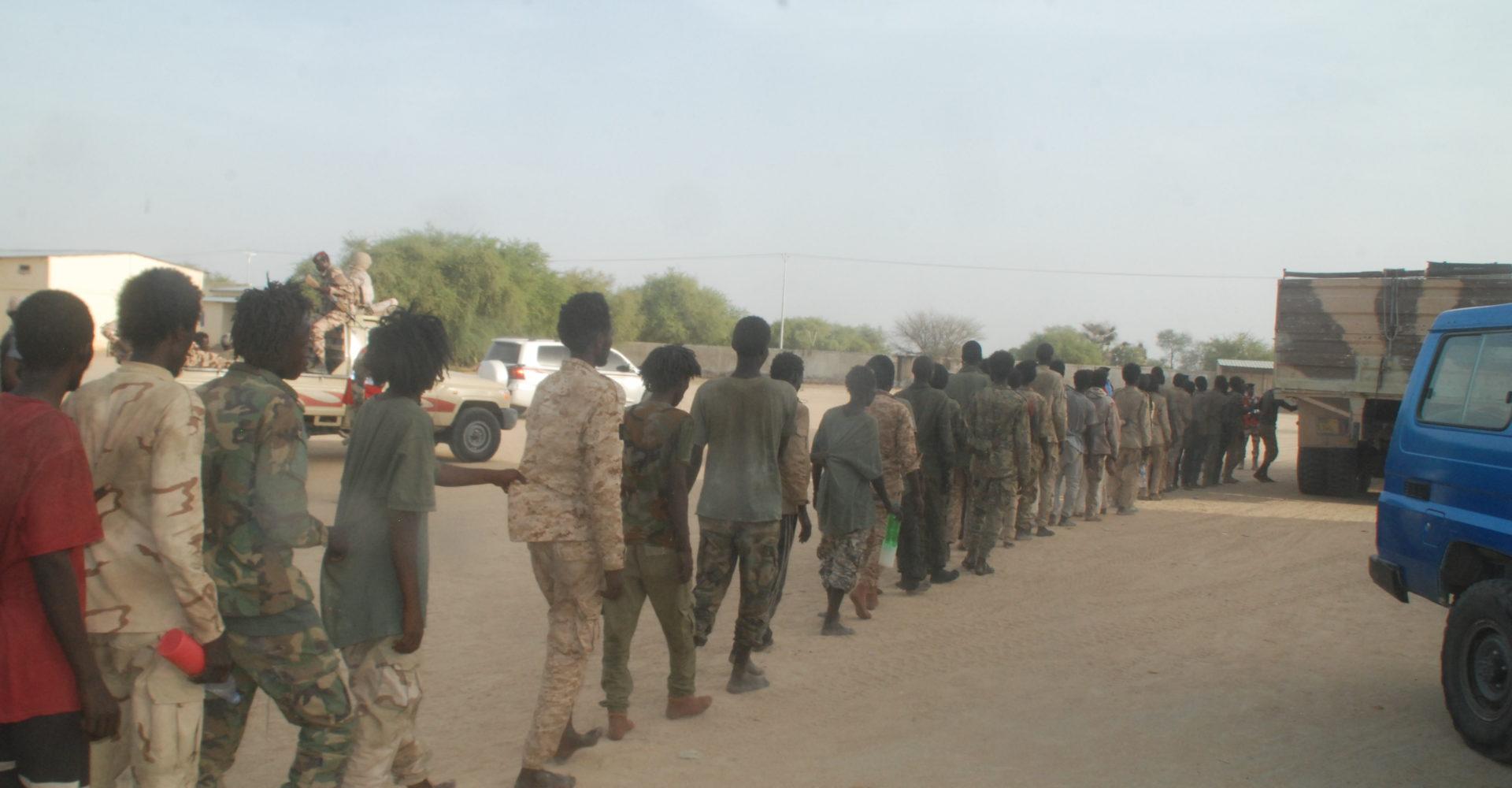 246 prisonniers de guerre remis à la justice 1