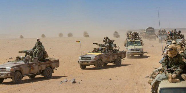 L'état-major général annonce la présence d'une colonne rebelle dans le Tibesti 1