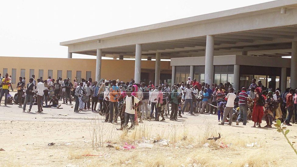 Suspension des cours au campus de Toukra 1
