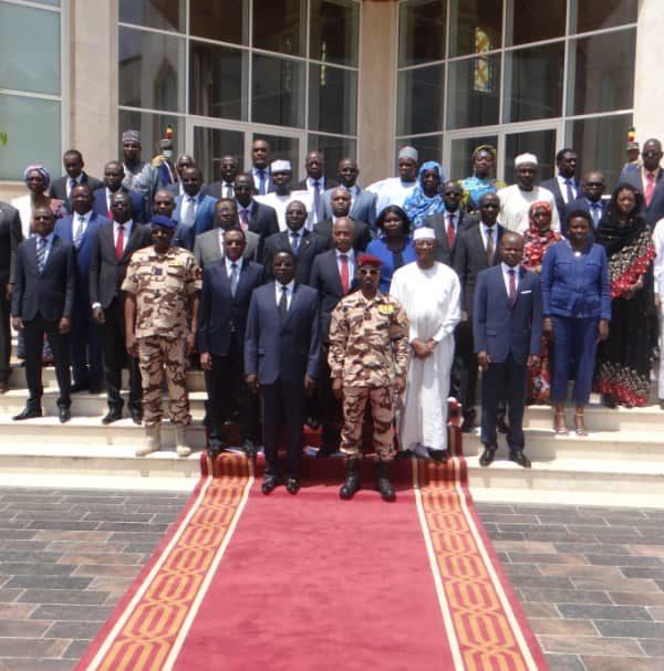 Le gouvernement de transition tient son 1er conseil des ministres