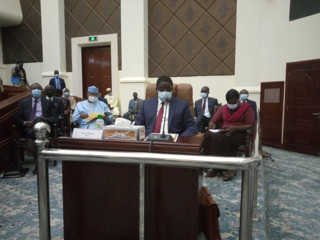 Le gouvernement transition a présenté son programme aux élus du peuple 1