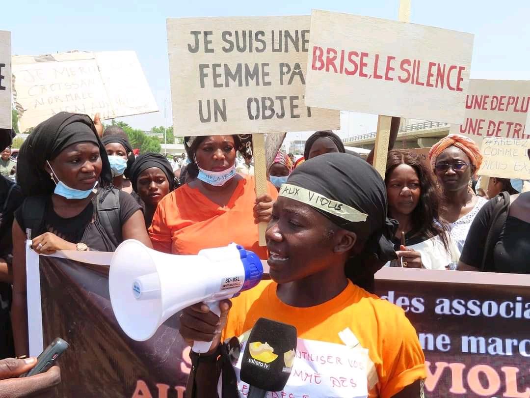 Les femmes disent non aux violences basées sur le genre 1