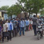 La première marche de Wakit tama sous escorte policière 2