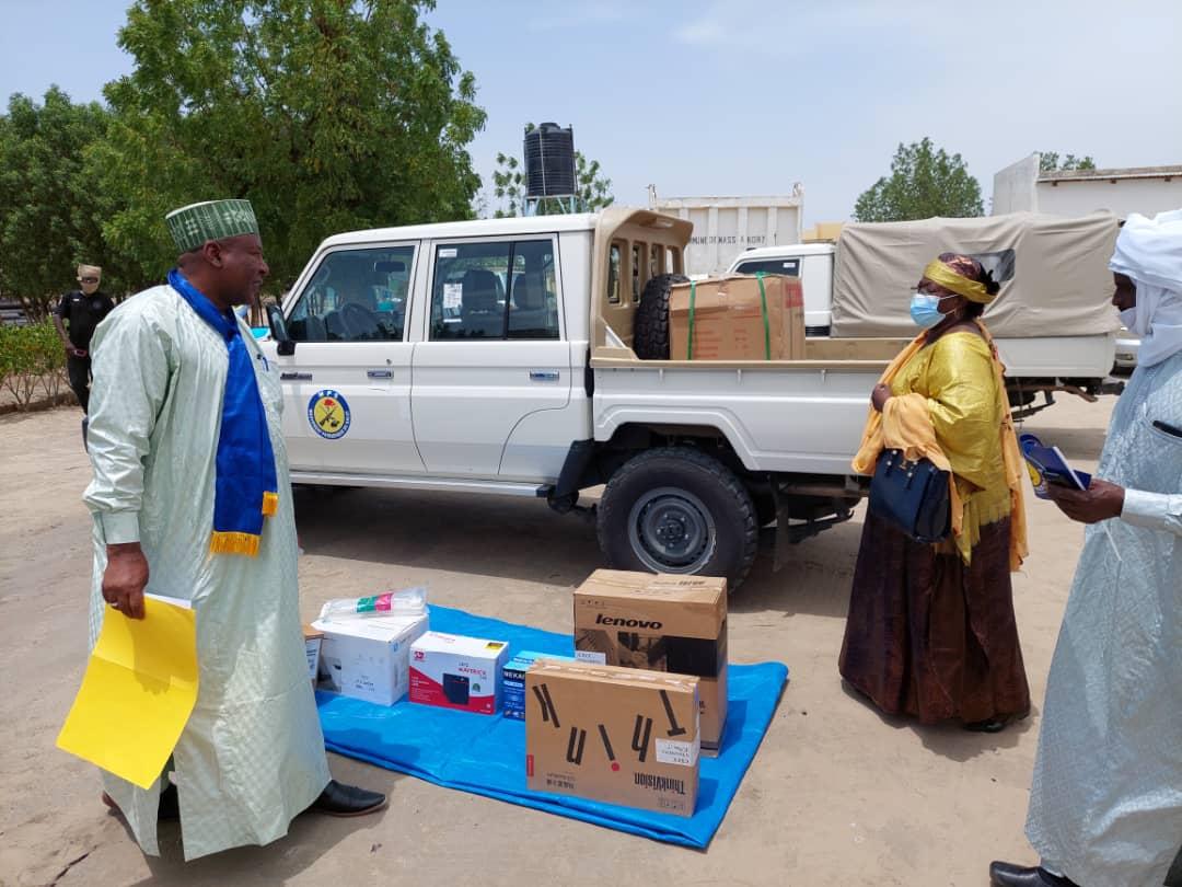 Un véhicules et des matériels pour le conseil provincial du Mps de Hadjer Lamis 1