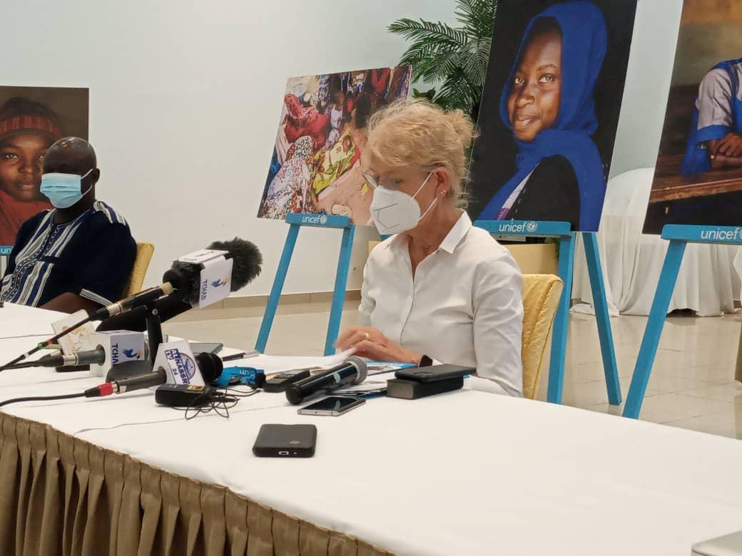 La représentante de l'Unicef au Tchad en fin de mission constate un progrès en faveur des droits des enfants 1