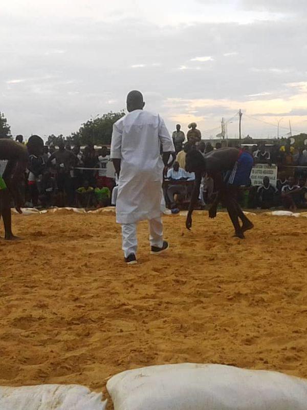 La 4ème édition du championnat national de lutte ouvert à Ndjaména