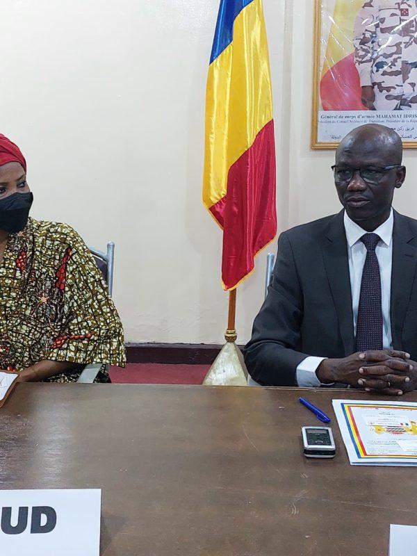 La Sous-Secrétaire Générale des Nations Unies-Unies en visite au Tchad